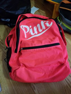 Pink backpack Victoria Secret for Sale in Beltsville, MD