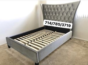 Silver Queen bed frame for Sale in San Diego, CA