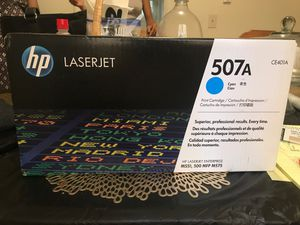 507A Cyan Print Cartridge (CE401A) for Sale in Norwalk, CT
