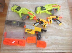 Nerf guns please read description for Sale in Lewisville, TX