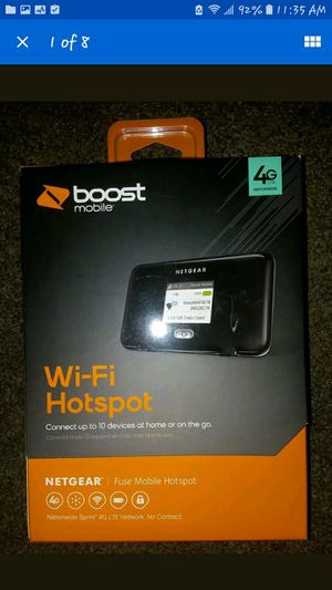 Boost Mobile Netgear Wireless Mobile Hotspot Wifi Internet Modem Router for Sale in Baltimore, MD