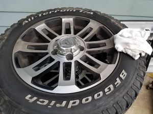 Toyota tundra rims and tires for Sale in San Antonio, TX