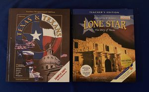 Lone Star , The Story of Texas and Texas & Texans Hardcover Books for Sale in San Antonio, TX