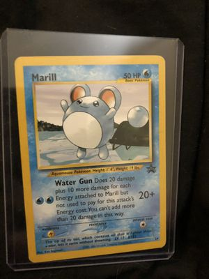 POKEMON MARILL PROMO for Sale in Las Vegas, NV