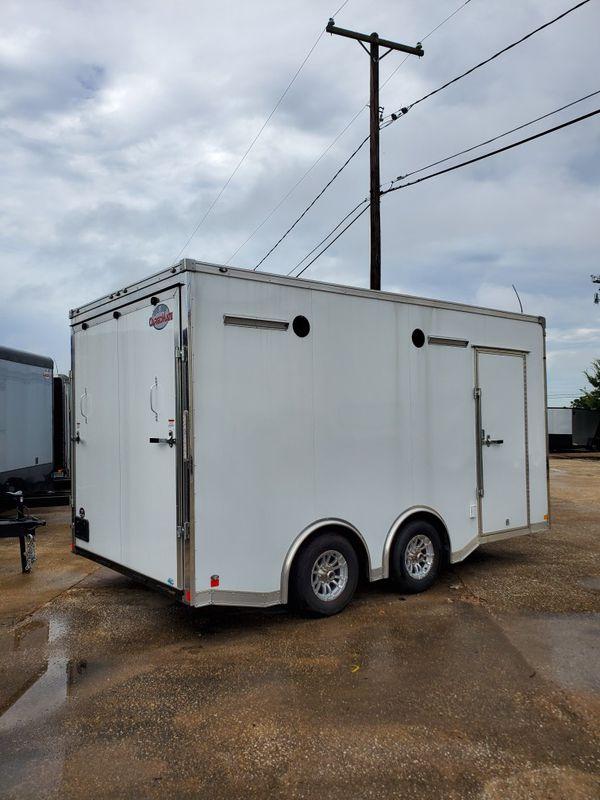 Enclosed car hauler 8.5x16