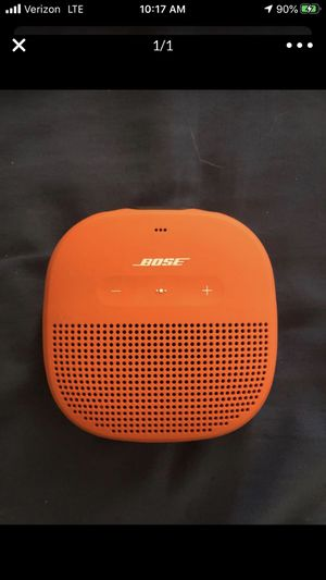 Bose orange Blue tooth speaker / works great / Bluetooth $50 for Sale in Phoenix, AZ
