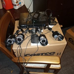 Security System 8 Camera for Sale in San Francisco, CA
