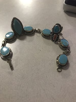Turquoise rings and bracelet for Sale in Dayton, TX