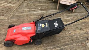 Black and decker electric lawnmower for Sale in Fairfax Station, VA