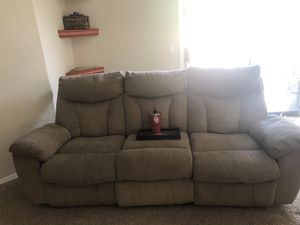 Grey recliner Free for Sale in Avondale, AZ