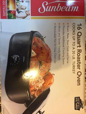 Sunbeam 16 Quart Roaster Oven Crock Pot Slow Cooker - $10 or best offer for Sale in Newton, MA