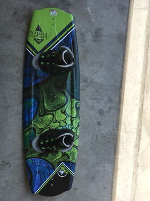 kickass wakeboard and bindings for Sale in Silver Spring, MD