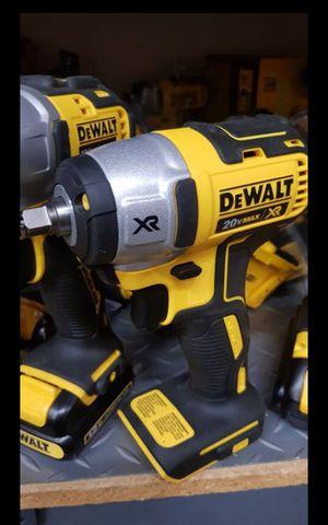 DEWALT 20V MAX XR BRUSHLESS 3/8 IMPACT WRENCH TOOL ONLY BRAND NEW for Sale in San Bernardino, CA