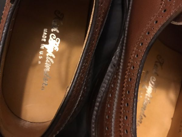 Keith Highlander vintage brogues size 8 1/2 never worn