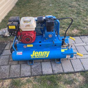 Jenny Air Compressor 125 PSI for Sale in Kearny, NJ