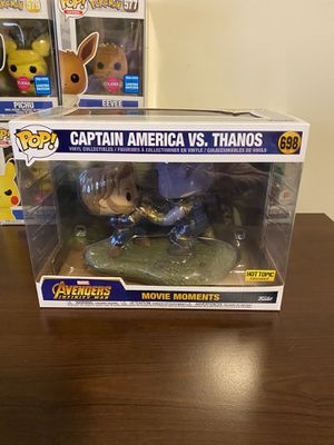Captain America vs Thanos Funko Pop! for Sale in Annapolis, MD