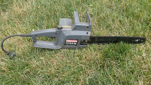 Craftsman Electric Chain Saw for Sale in Columbus, OH