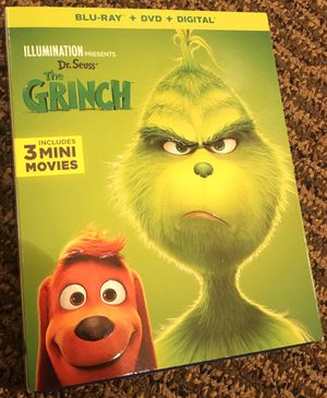 The Grinch - Blu-Ray and DVD for Sale in Everett, WA