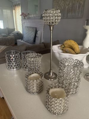 Candle holders and led light candle for Sale in Brentwood, CA