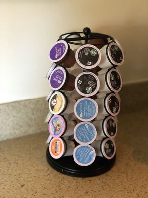 Keurig Coffee KCup Holder included with KCups for Sale in Dickerson, MD