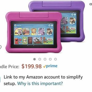 These Kids Edition Kindle Fires for Sale in Easley, SC