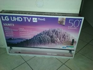 New LG TV 50UM73 ThinQ for Sale in Rancho Cucamonga, CA
