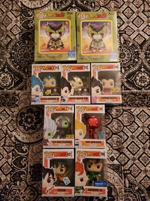 Dragon Ball Exclusive pops! for Sale in Denver, CO