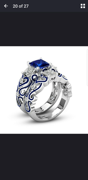 Blue stone fashion rings for Sale in Orlando, FL