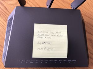NETGEAR Nighthawk AC1900 Smart WIFI Router Model R7000 for Sale in Martinsburg, WV