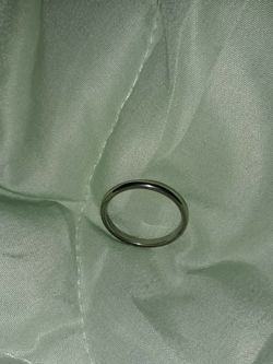 925 Sterling Silver Wedding Ring, Size 7. for Sale in Dallas,  TX