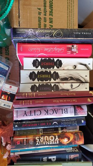 variety of books vampire dairy books and a few classics for Sale in CONCORD FARR, TN