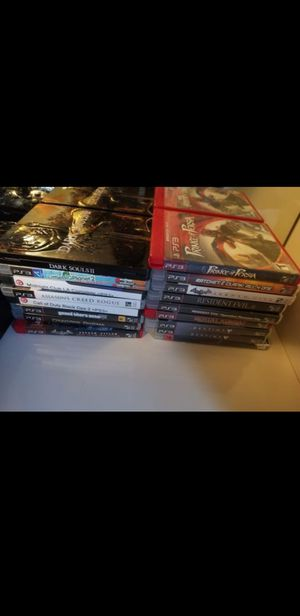 Ps3 1 controller with 20+ games for Sale in Lawrence, MA