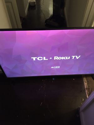 TCL Roku tv for Sale in Lithonia, GA
