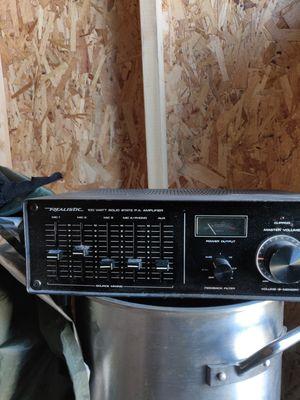 Realistic amplifier for Sale in Calumet Park, IL