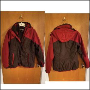$65 womens medium 3-1 Columbia Winter Coat for Sale in Brooklyn, NY