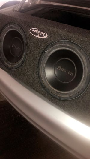 "Boston Acoustic 10"" subs in box for Sale in Affton, MO"
