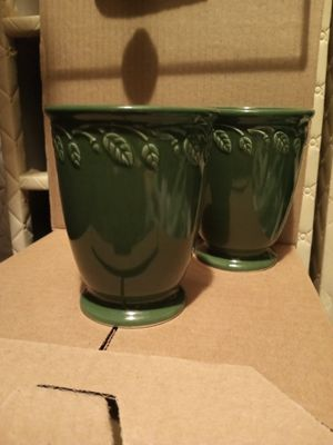 Two Longaberger vases for Sale in South Amherst, OH