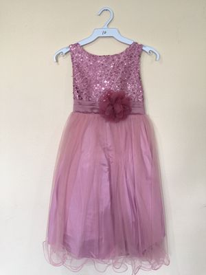 New Dusty Rose Pink Flower Girls Party Dress Size 10 for Sale in Hacienda Heights, CA