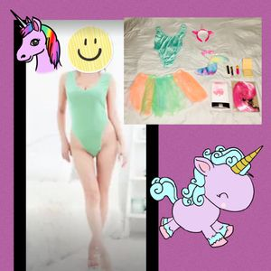 """WHIMSICAL 🦄 UNICORN!"" Beautiful customer made deluxe unicorn 🦄 costume women's size MEDIUM - NEW! for Sale in Carrollton, TX"