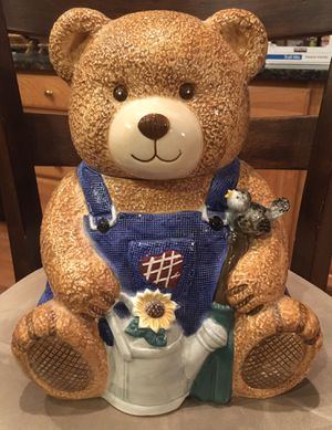 Bear cookie jar for Sale in Damascus, MD