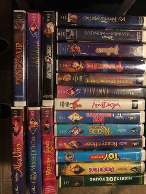 Classic Walt Disney VHS videos for Sale in Fort McDowell, AZ