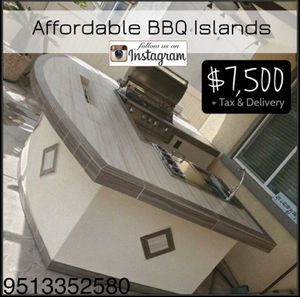 Bbq islands barbecue grill patios bar bar patio furniture cabinets for Sale in Riverside, CA