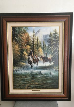 """Canvas painting by Jack Terry. Titled, """"Sierra Sunrise"""". for Sale in San Diego, CA"""