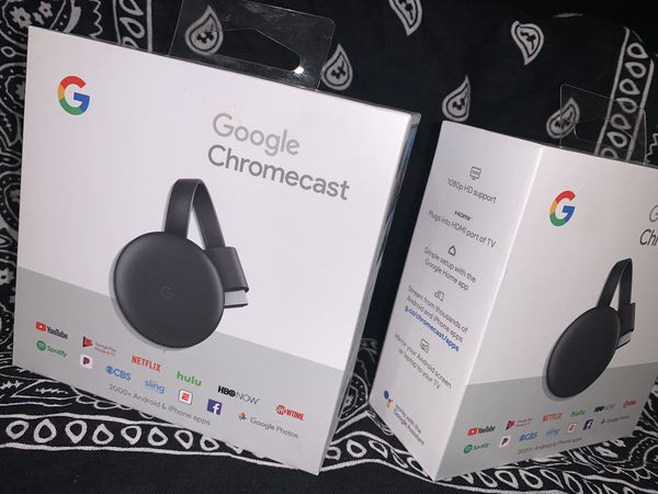 Google chromecast (Iphone&android)
