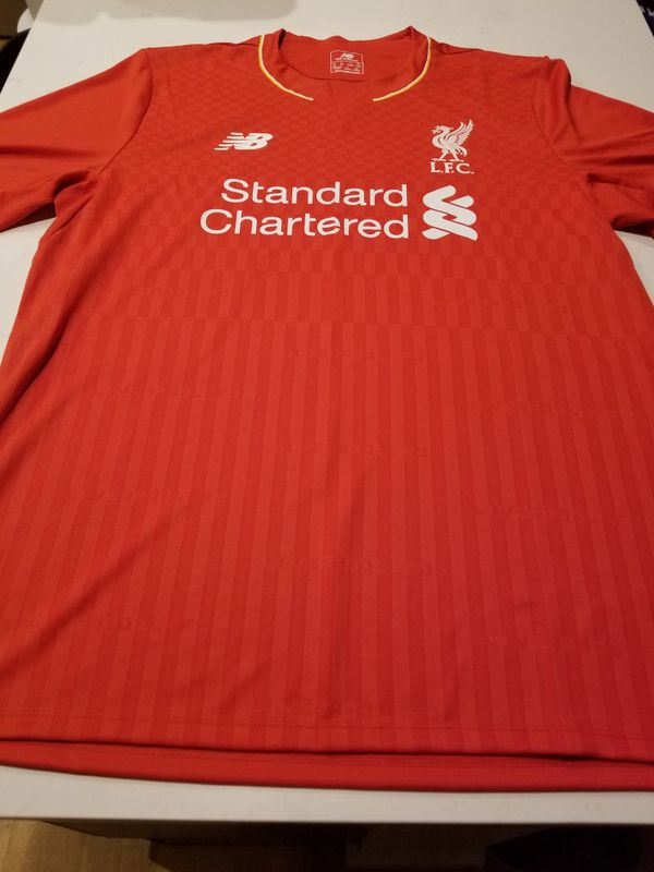 Liverpool Jersey authentic size large never used