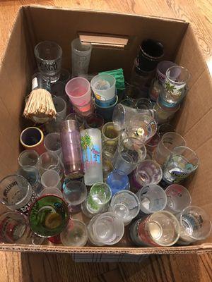 Box full of Shot Glasses!! for Sale in Warren, MI