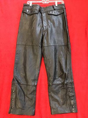 Harley Davidson biker leather pants for Sale in Tigard, OR