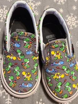 Yoshi Vans- Toddler Size 6 for Sale in Aurora,  IL