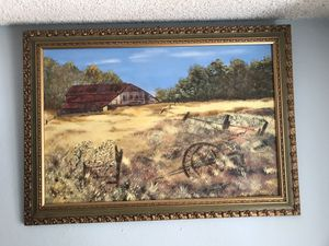 Frame art work / paintings home decor for Sale in Riverside, CA
