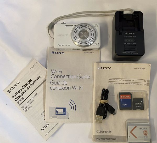 SONY CYBERSHOT DIGITAL CAMERA DSC-WX80